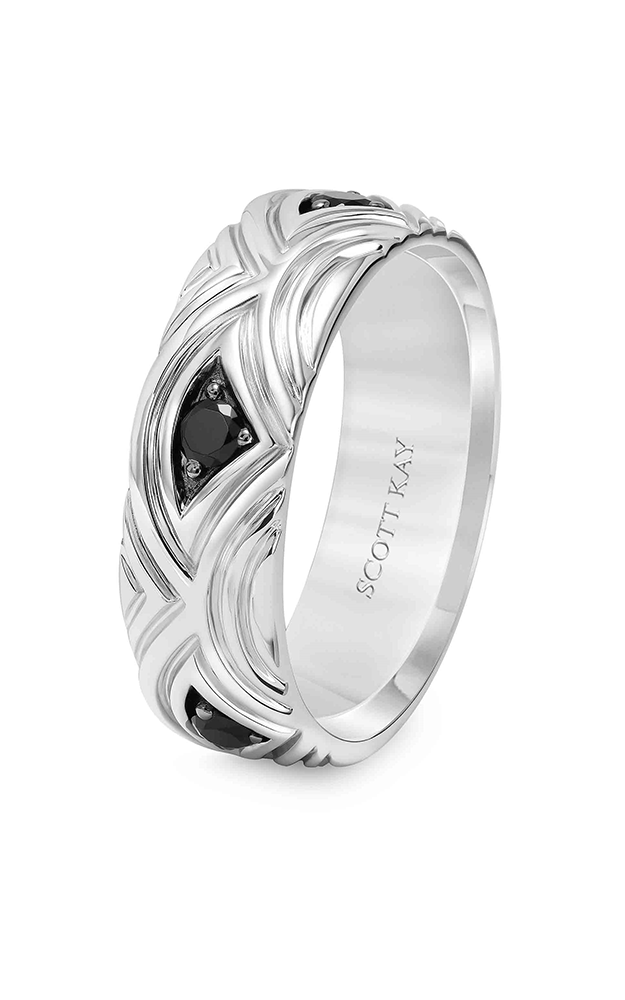 Scott Kay Heaven's Gate Men's Wedding Band 22-SK5549BP7-G product image