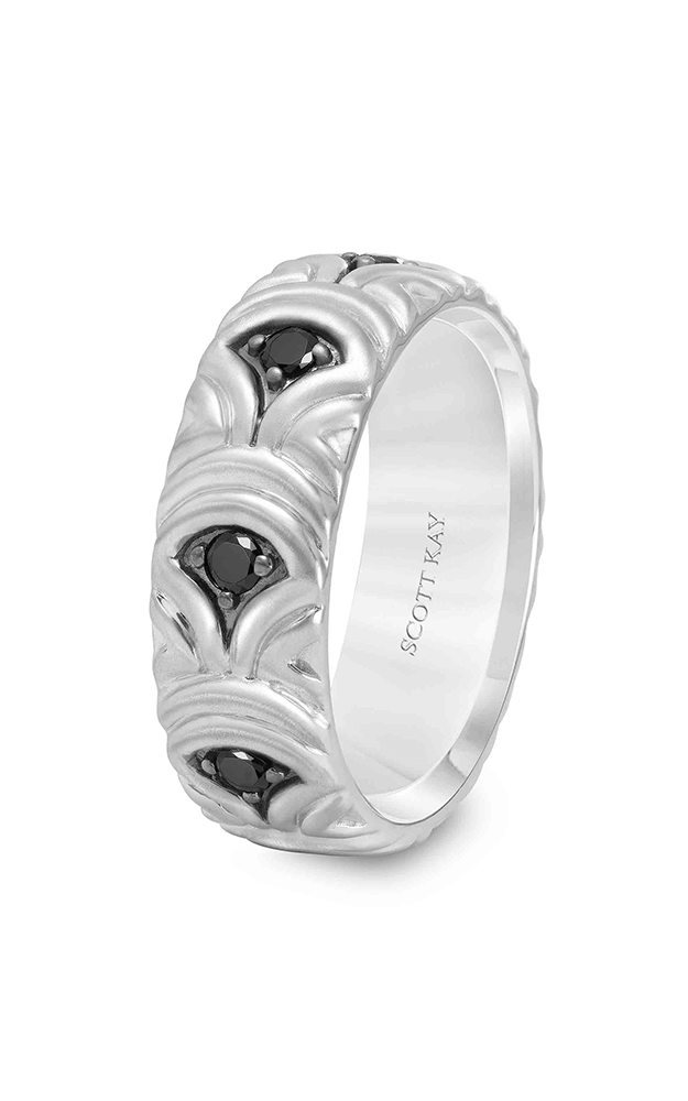 Scott Kay Heaven's Gate Men's Wedding Band 22-SK5550BP75-G product image