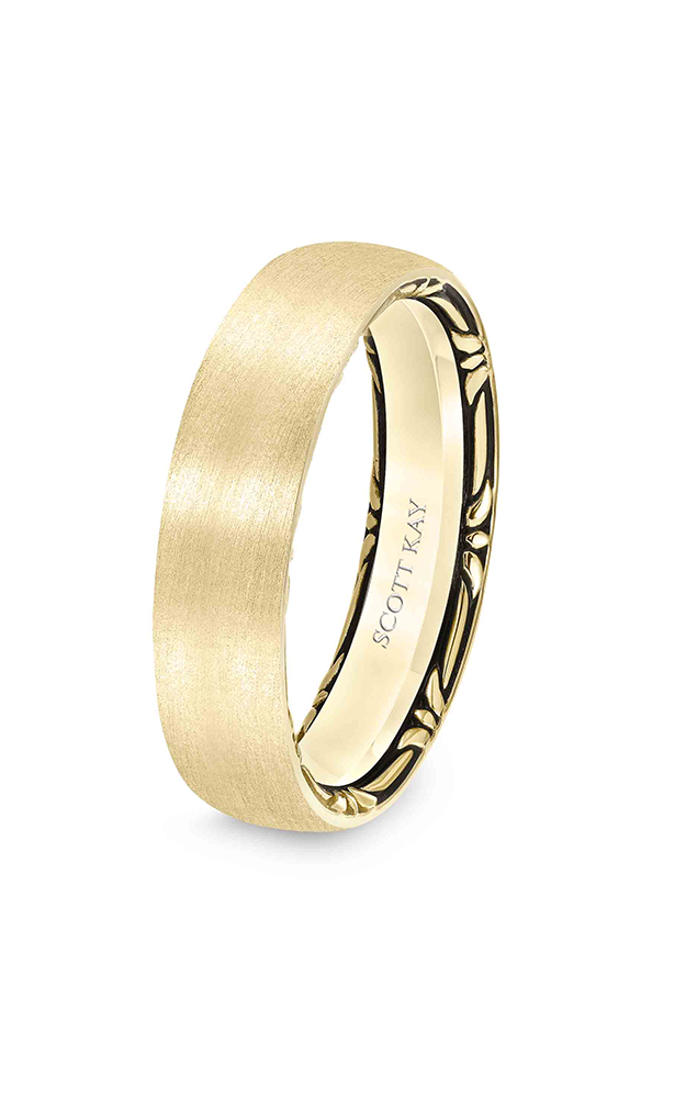 Scott Kay Heaven's Gate Men's Wedding Band 11-SK5566W6-G product image