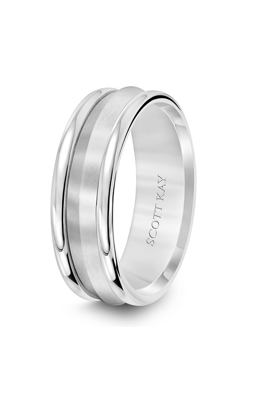 Scott Kay Namaste Men's Wedding Band 11-SK5652W7-G.01 product image