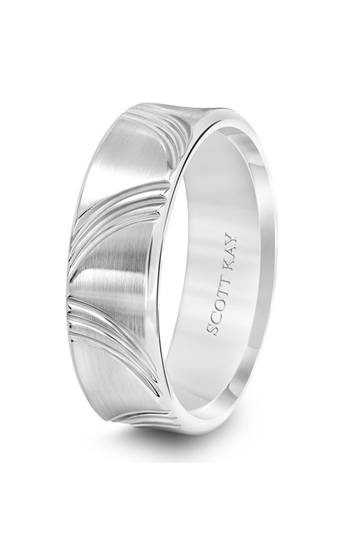 Scott Kay Heaven's Gate Men's Wedding Band 11-SK5653W7-G.01 product image