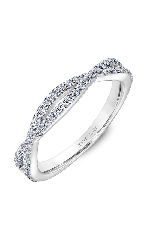 Scott Kay Namaste Wedding Band 31-SK5637W-L.01 product image
