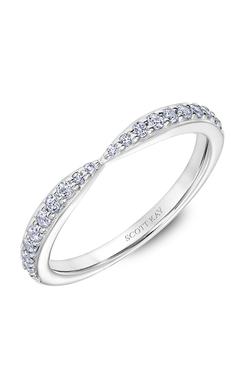 Scott Kay Embrace Women's Wedding Band 31-SK5638W-W.01 product image
