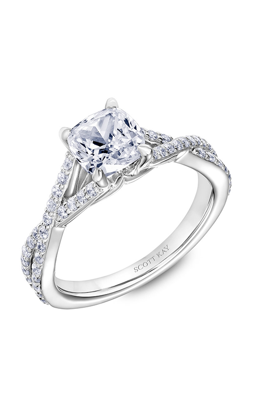 Scott Kay Namaste Engagement Ring 31-SK5634GUW-E.02 product image