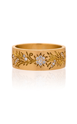 Sethi Couture Intricate Fashion Ring 2520R-YG product image