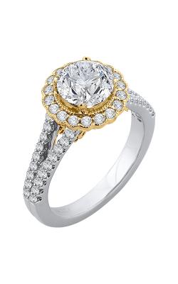 Shah Luxury Carizza Engagement ring CA0156EYLHK-37WY-1.5 product image