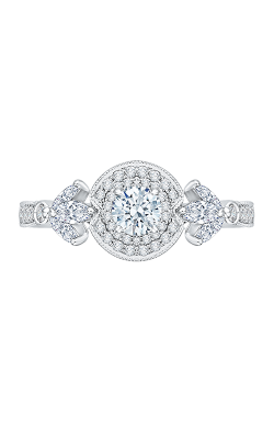 Shah Luxury Promezza Engagement Ring PR0142ECH-44W-.33 product image