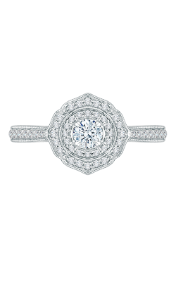 Shah Luxury Promezza Engagement Ring PR0144ECH-44W-.25 product image