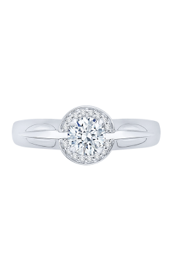 Shah Luxury Promezza Engagement Ring PR0158EC-44W-.50 product image