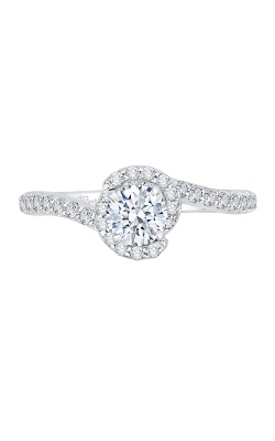 Shah Luxury Promezza Engagement Ring PR0160ECH-44W-.50 product image