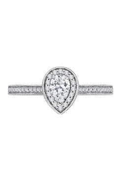 Shah Luxury Promezza Engagement Ring PRA0133ECH-44W-.50 product image