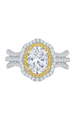 Shah Luxury Carizza Engagement ring CAO0194EYL-37WY-1.5 product image