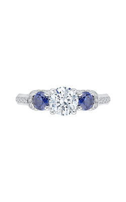 Shah Luxury Carizza Engagement Ring CA0056E-S37W product image