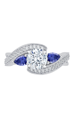 Shah Luxury Carizza Engagement ring CA0065E-S37W product image