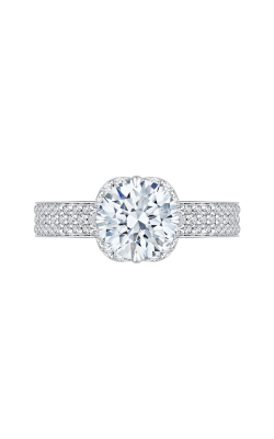 Shah Luxury Carizza Engagement Ring CA0133EQ-37W-1.50 product image