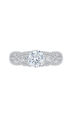 Shah Luxury Carizza Engagement Ring CA0167EQK-37W product image