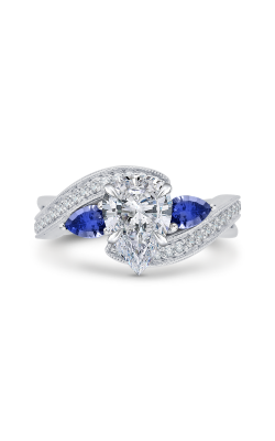 Shah Luxury Carizza Engagement ring CAA0065E-S37W product image
