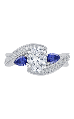 Shah Luxury Carizza Engagement ring CAO0065E-S37W product image