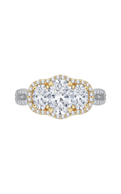 Shah Luxury Carizza Engagement ring CAO0122E-37WY-1.25 product image