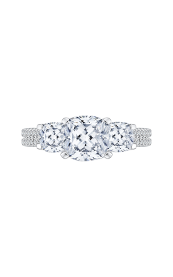 Shah Luxury Carizza Engagement Ring CAU0190EHK-S37W-1.75 product image