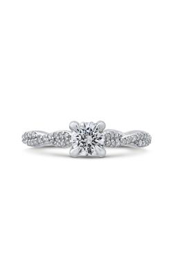 Shah Luxury Promezza Engagement ring PR0195ECQ-44W-.50 product image