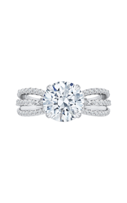 Shah Luxury Carizza Boutique Engagement Ring QR0059K-40W-3.00 product image