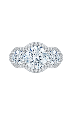 Shah Luxury Carizza Boutique Engagement Ring QR0060K-40W-3.00 product image