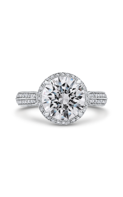 Shah Luxury Carizza Boutique Engagement Ring QR0065EQK-40W-3.00 product image