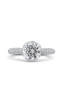 Shah Luxury Carizza Boutique Engagement Ring QR0070EHK-40W-1.50 product image