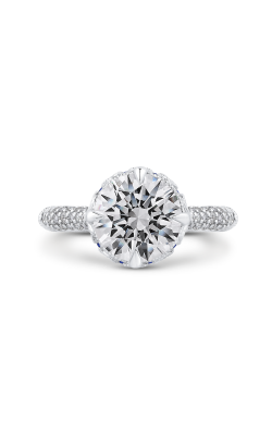 Shah Luxury Carizza Boutique Engagement Ring QR0071EHK-S40WP-3.00 product image