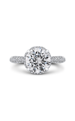 Shah Luxury Carizza Boutique Engagement Ring QR0072EHK-40WY-3.00 product image