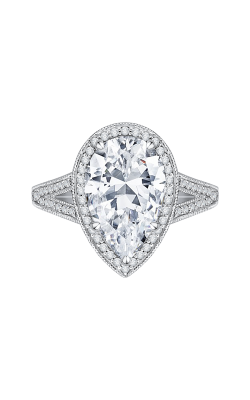 Shah Luxury Carizza Boutique Engagement Ring QRA0043K-40W product image