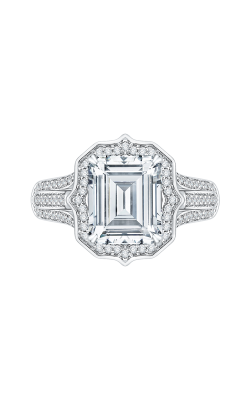 Shah Luxury Carizza Boutique Engagement Ring QRE0051K-40W-3.00 product image