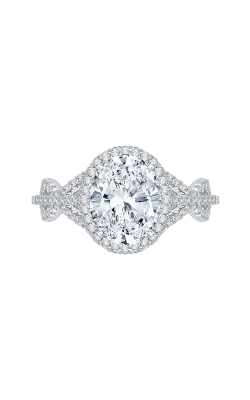Shah Luxury Carizza Boutique Engagement Ring QRO0013K-40W product image