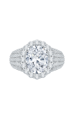 Shah Luxury Carizza Boutique Engagement Ring QRO0020K-40W product image