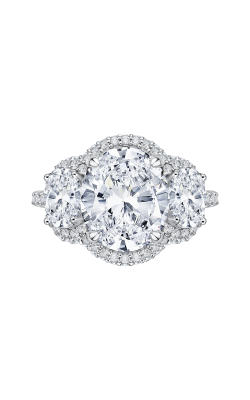 Shah Luxury Carizza Boutique Engagement Ring QRO0042K-40W product image