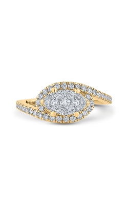Shah Luxury Luminous Engagement ring LURQ0232-42YW-1.00 product image