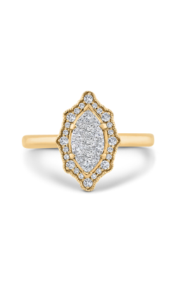 Shah Luxury Luminous Engagement Ring LURQ0260E-42YW-1.00 product image