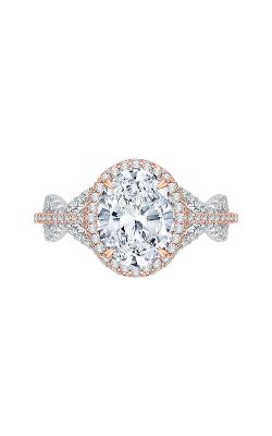 Shah Luxury Carizza Boutique Engagement ring QRO0013K-40WP product image