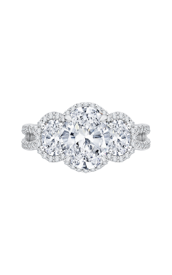 Shah Luxury Carizza Boutique Engagement ring QRO0054K-40W-3.00 product image