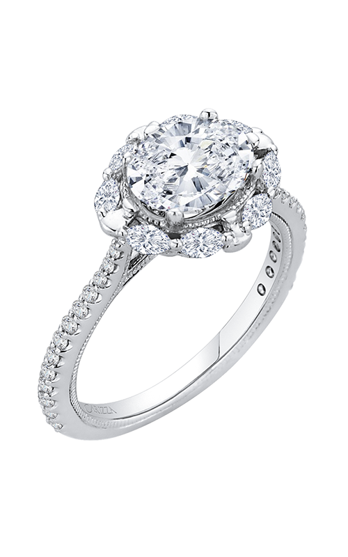 Shah Luxury Carizza Engagement ring CAO0126EQK-37W-1.50 product image