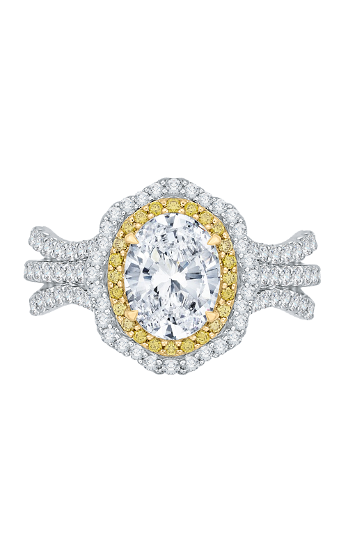 Shah Luxury Carizza Engagement ring CAO0194EYLK-37WY-1.5 product image