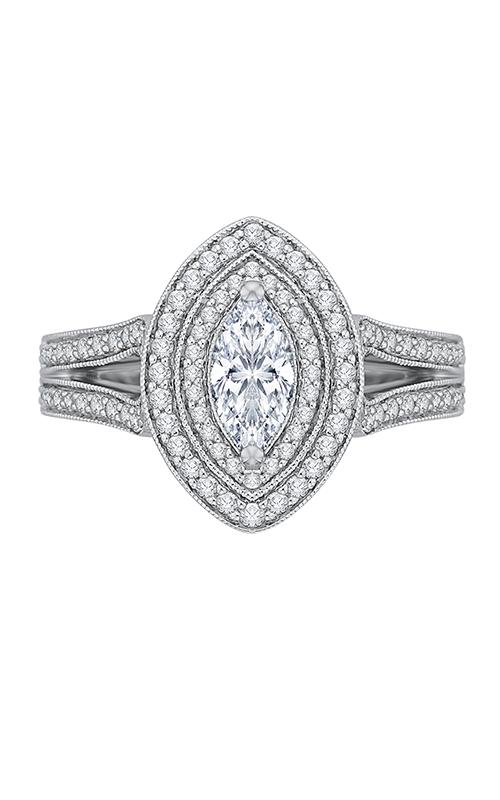 Shah Luxury Promezza Engagement ring PRQ0135ECH-44W-.50 product image