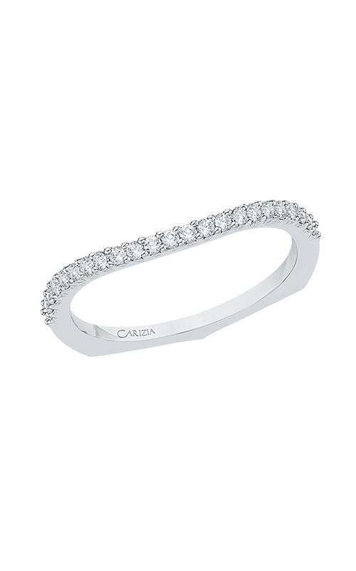 Shah Luxury Carizza Wedding band CA0033BK-37W product image