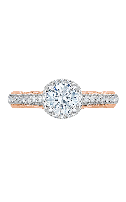 Shah Luxury Carizza Engagement ring CA0072E-37WP product image