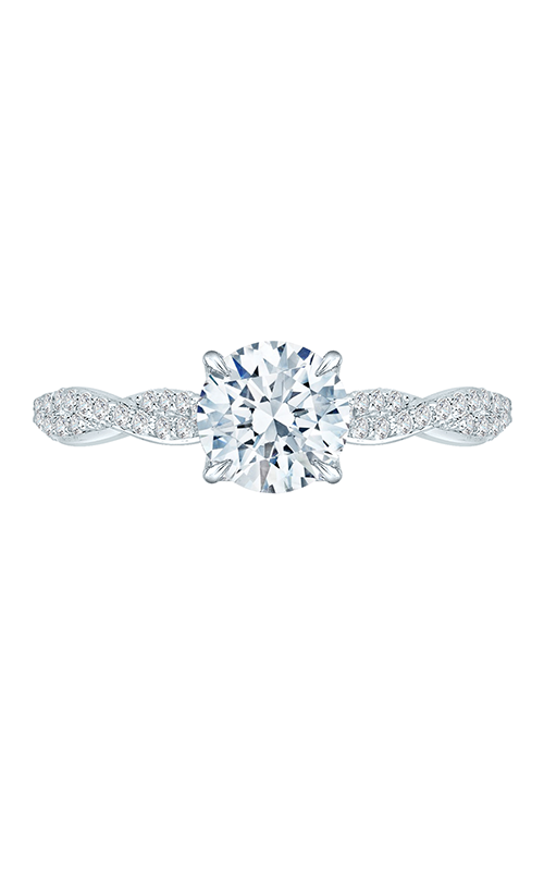 Shah Luxury Carizza Engagement ring CA0088E-37W product image