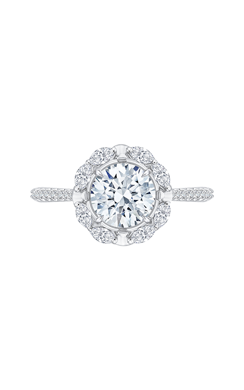 Shah Luxury Carizza Engagement ring CA0126EQ-37W-1.50 product image