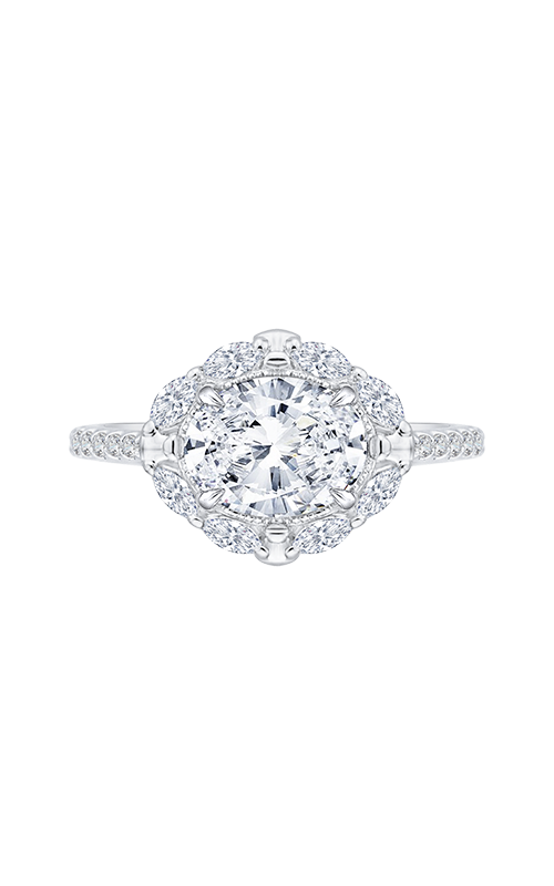 Shah Luxury Carizza Engagement ring CAO0126EQ-37W-1.50 product image