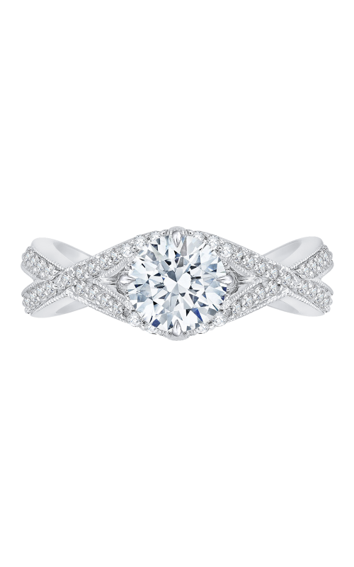 Shah Luxury Carizza Engagement ring CA0105E-37W product image