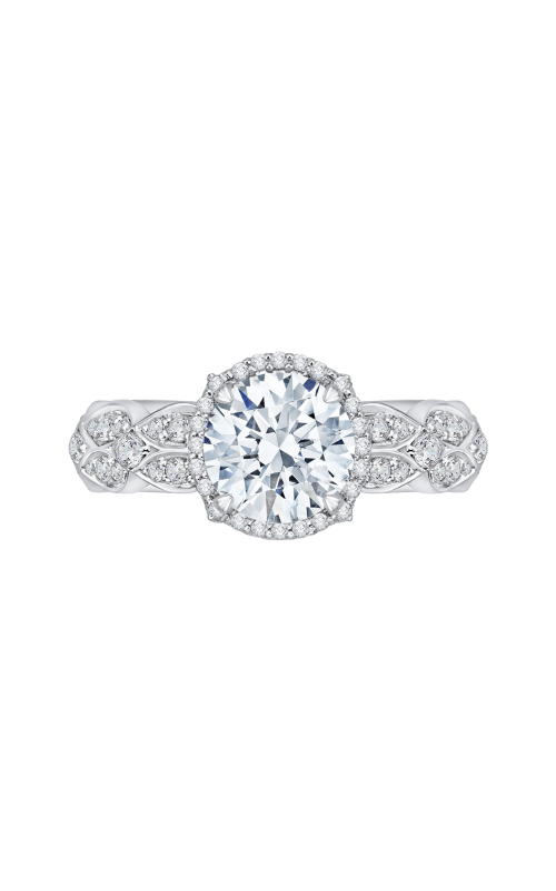 Shah Luxury Carizza Engagement ring CA0143EQ-37W product image